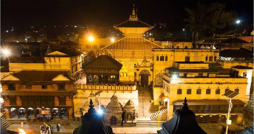 Pashupatinath night views, kathmandu