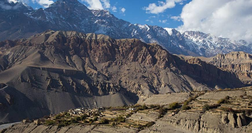 Upper Mustang Trek via Yara-Tangge