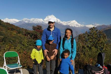 Annapurna Poon Hill and Dhaulagiri Khopra Danda Trek